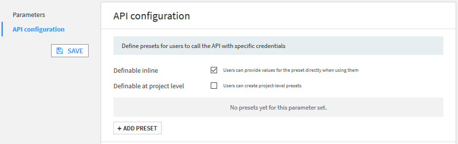 MeaningCloud connection settings