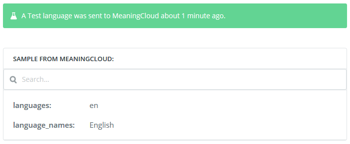 Identify Language | MeaningCloud