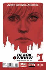 Cover for Marvel's Black Widow #1