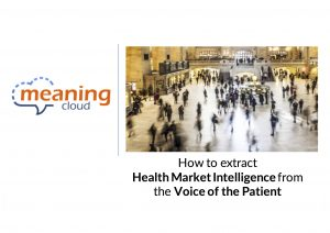 Pharma Market Intelligence - Voice of the Patient