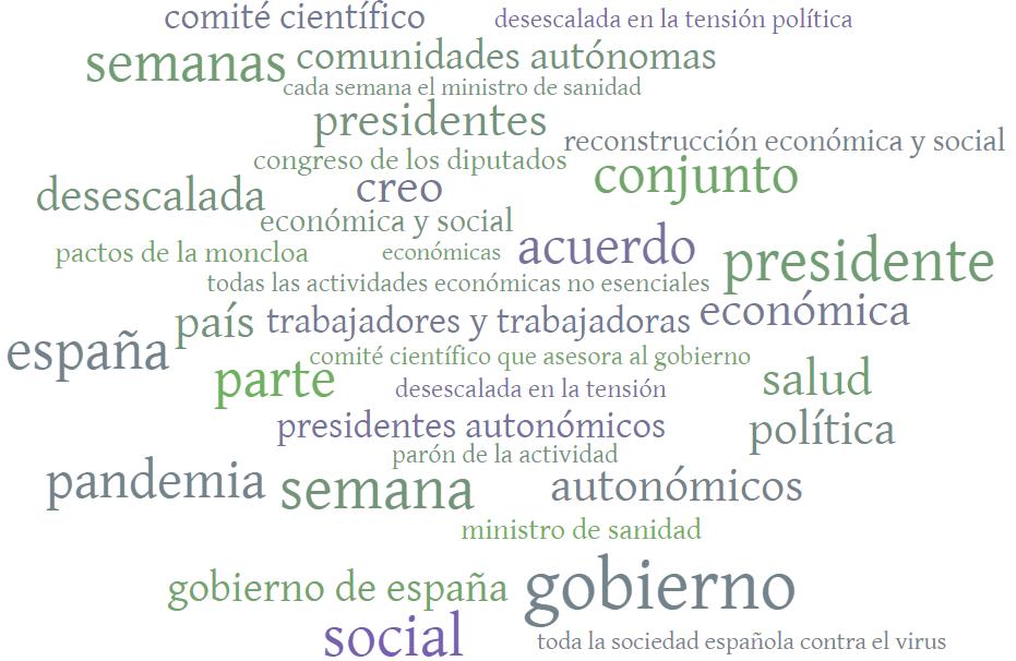 Conferencia de prensa del presidente del Gobierno tras la reunión de la Conferencia de presidentes autonómicos