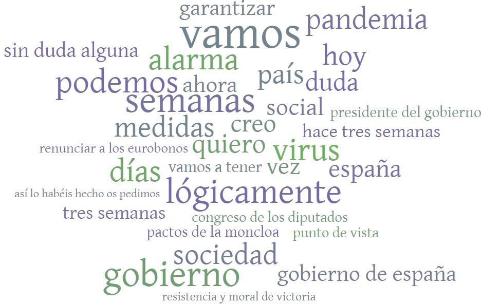 Comparecencia del presidente del Gobierno sobre nuevas medidas contra la Covid-19